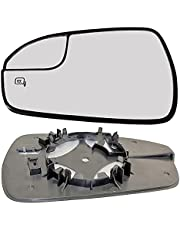 Right Off Driver Side Heated Convex Clip On Door Wing Mirror glass #NiNavara05-14-RCH