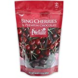 Chocolate Covered Bing Cherries | 24-Ounce Pouch | Made with All-Natural Ingredients | All-Natural Dried Bing Cherries…