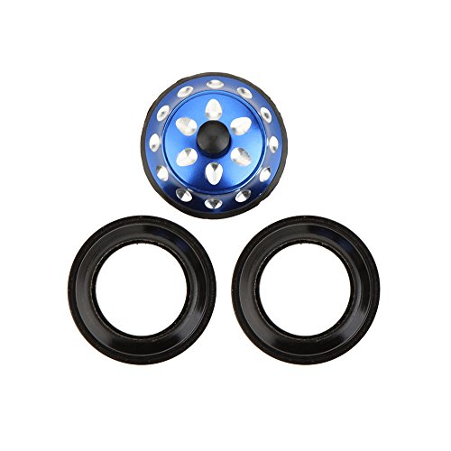 1.18'' Aluminium Alloy Mountain Bike Headset Bicycle Threadless Headset Seal Bearing - Blue by New Brand