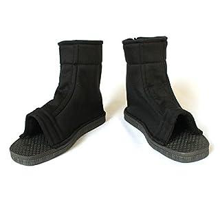 Coz' Place Unisex Naruto Shippuden Ninja Shoes (Black, US 4.5)