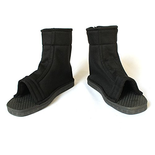 (Coz' Place Unisex Naruto Shippuden Ninja Shoes (Black, US 4.5))