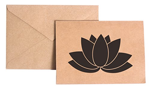 Lotus Flower Stationery Note Card Set (Lotus Note Cards)
