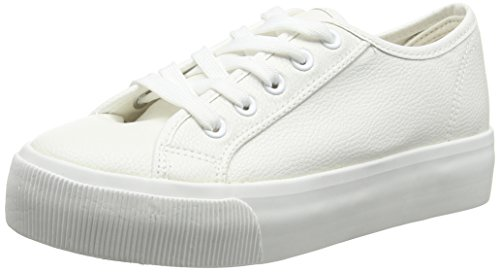New Look Monster, Zapatillas Mujer Blanco (White)
