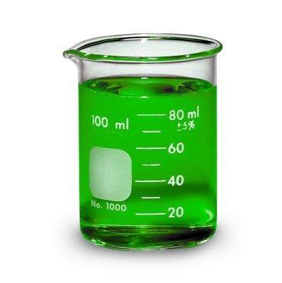 Beaker Low Form Glass Graduated 100ml -