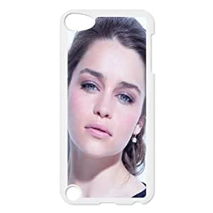 Celebrities Emilia Clarke iPod Touch 5 Case White Protect your phone BVS_683191