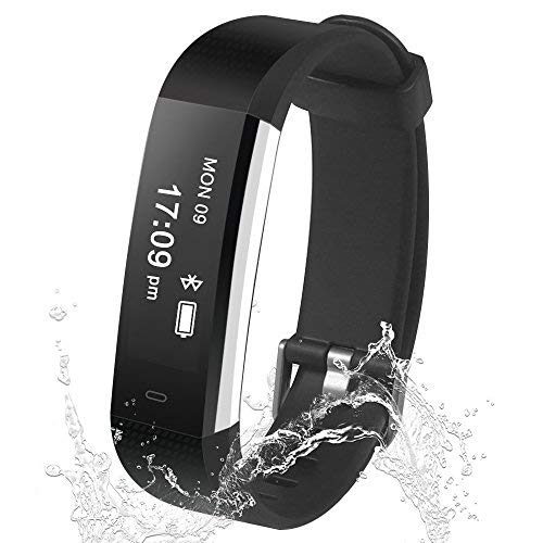 Damusy Fitness Tracker Smart Watch Bluetooth Pedometer Activity...