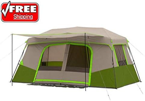 11人用 インスタント キャンプ キャビン テント アウトドア ハイキング プライベートルーム