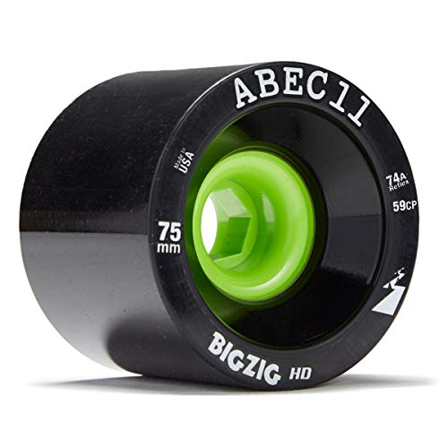 Bigzigs Longboard - Abec11 BigZig HD Longboard Wheels - 75mm 74a