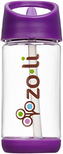 ZoLi SQUEAK 12 oz Straw Water Bottle – Purple