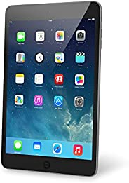 (Renewed) Apple iPad Mini 2 with Retina Display ME276LL/A (16GB, Wi-Fi, Black with Space Gray)