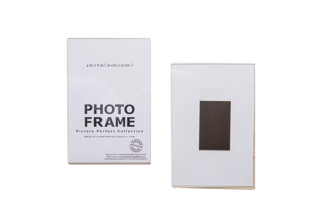 Amazoncom 4x6 Clear Acrylic Picture Frame Magnet Magnetic
