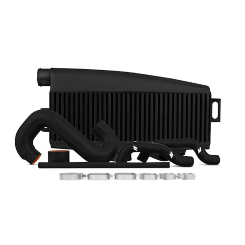 Mishimoto MMTMIC-WRX-01BKBK Subaru WRX/STI Performance Top-Mount Intercooler Kit Black Intercooler Black Hoses, 2002-2007