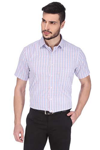 Dudlind Men Formal Half Sleeves Regular Fit Shirt | Mens Shirts for Office and Business wear