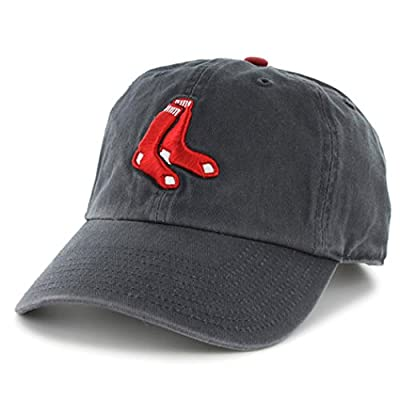 47 Brand Boston Red Sox Clean Up Adjustable Hat - Unisex Navy|Navy-Blue
