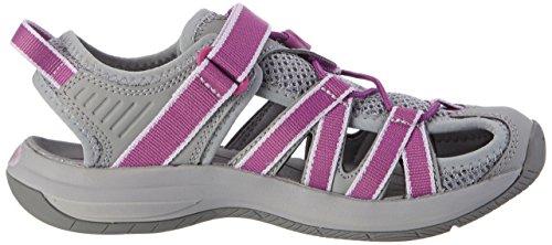 W's Teva Multicolore Purple grey D'athlétisme dark Femme Chaussures Rosa 5wq4xwXr6U