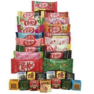 tonosama-candy-selection-30-japanese-kit-kat-17-pcs-tirol-13-pcs
