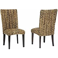 Coaster 101093 Home Furnishings Woven Side Chair (Set of 2), Natural