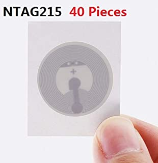 Amazon.com: GoToTags Blank White NFC PVC ISO Cards - NTAG215 ...