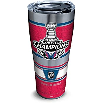 12b459f7fce Tervis 1304651 NHL Washington Capitals 2018 Stanley Cup Champions Stainless  Steel Insulated Tumbler with Clear and