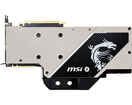 MSI Gaming GeForce RTX 2080 Ti GDRR6 352-bit HDMI/DP/USB Ray Tracing Turing  Architecture EKWB Graphics Card (RTX 2080 TI SEA Hawk EK X)