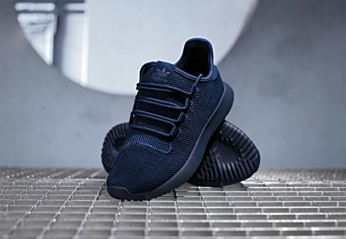 Low 's Shadow Men Tubular Blue Sneaker Adidas Neck Knit xTwFqZZn7