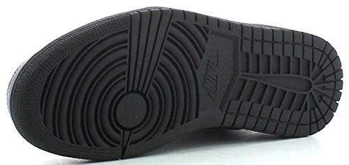 Nike Jordan 1 Flight 4 Homme Chaussures de Sport Noir Cuir