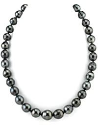 "14K Gold 10-13mm Tahitian South Sea Baroque Cultured Pearl Necklace - AAA Quality, 20"" Length"