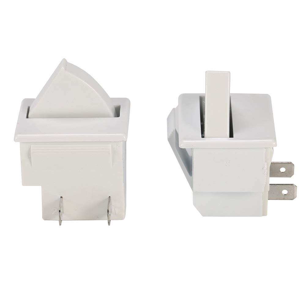 Generic Refrigerator Door Light Switch 2 Feet Compatible for GE Whirlpool, Maytag, Admiral, Amana, Crosley, Jenn-Air, Kenmore, KitchenAid, Magic Chef 2 PCS