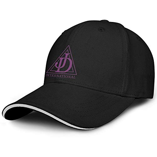 WENL Nebraska Job's Daughters Sandwich Dad Golf Hat Low Profile Adjustable Sun Caps Unisex
