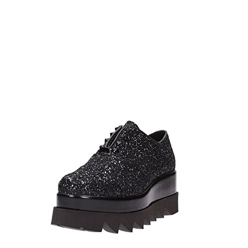 negro negro mujer de cordones Zapatos para Cult negro qx7pTww