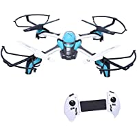 Mini Drone RC Quadcopter Remote Control Headless Helicopters Aircraft with Camera One Key Return without Memory or Card Reader (USB)