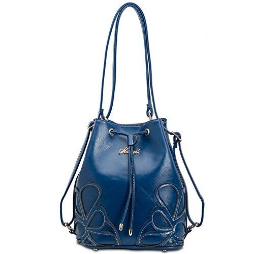 Fashion Shoulder Bag Tote Bag Messenger Bag Bags Dual Purpose Package (blue) W84228