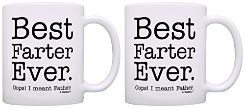 Best Farter Mug Best Farter Ever Funny Fathers Day