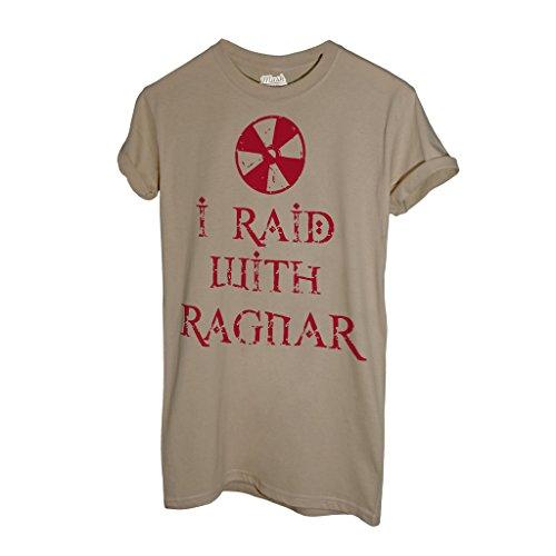 T-Shirt Vikings I Raid With Ragnar - FILM by Mush Dress Your Style