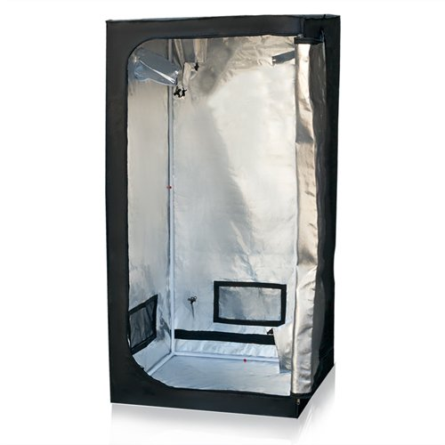 $51.99 indoor grow tent cheap Best ChoiceProducts Grow Tent Reflective Mylar Hydroponics Plant Growing Room New, 32″ X 32″ X 63″ 2019