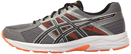 ASICS Men's Gel-Contend 4 Running Shoe, Carbon/Black/Hot Orange, 6.5 M US by ASICS (Image #5)