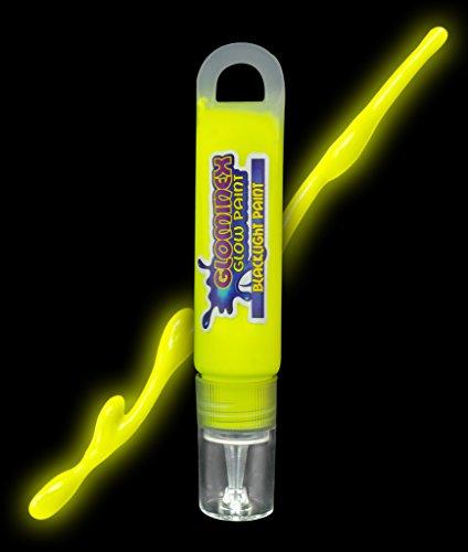 Glominex AC980 Blacklight UV Reactive Paint 1 oz Tube - (Buy Black Light Paint)