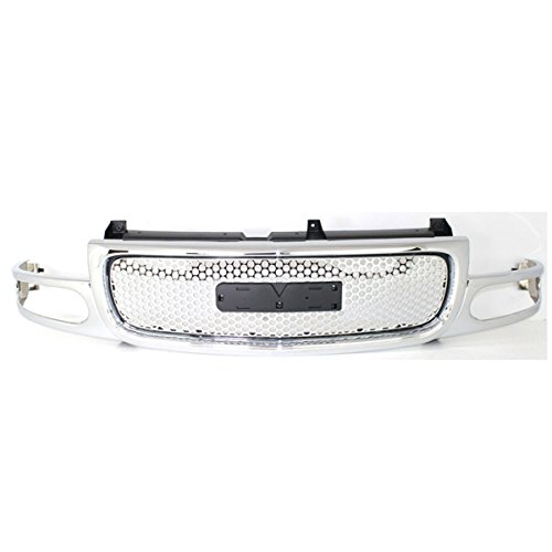 Koolzap For 01-06 Yukon Denali Front Grill Grille Assembly Chrome/Silver GM1200510 19130789