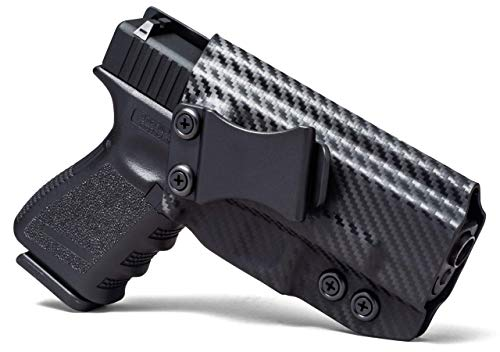 Concealment Express IWB KYDEX Holster: fits Glock 17/19/22/23/26/27/31/32/33 (Gen 1-5) - US Made - Inside Waistband Concealed Carry - Adj. Cant/Retention (Kahr Cw45 Mag)