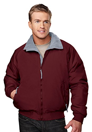 Tri-Mountain Men's 8800 Mountaineer Three Season Jacket Dark Maroon