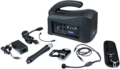 Amplivox SW322 Mity-Lite Plus Portable PA Bundle