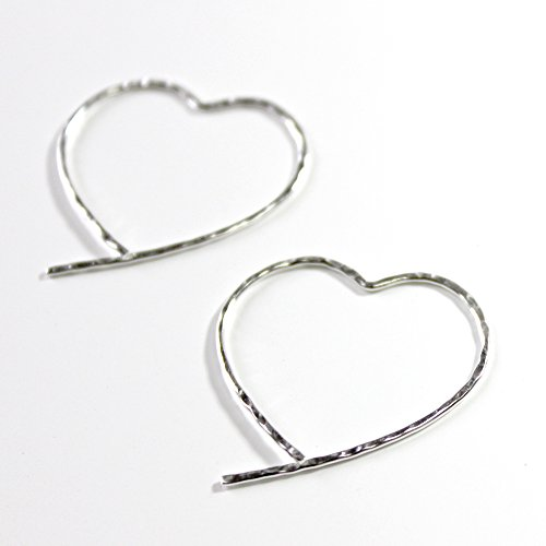 Love Is All Around Sterling Silver Earrings