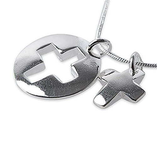 Cross Necklace Pendant Statement Christian product image
