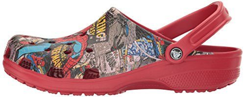 Pictures of Crocs Unisex Classic Spiderman Clog Mule 14 M US 5