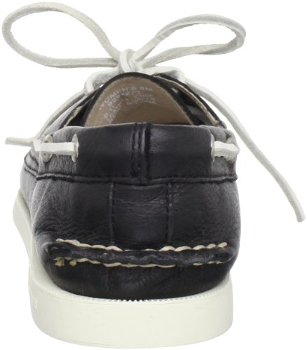 Boat Eye Two Sider Top Black Women's Shoe Sperry Original Authentic WnUOwaU0Bq