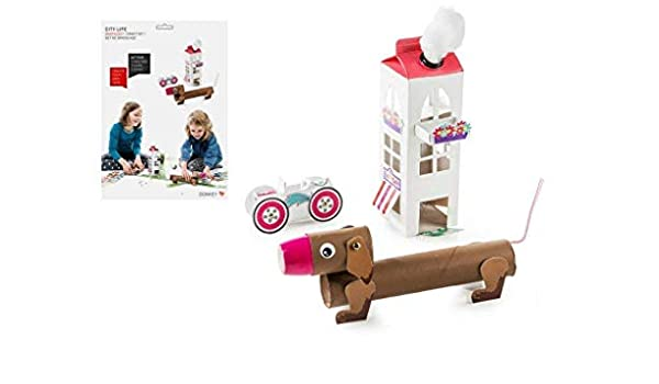 Donkey Products Pack & Play Citylife, Kit de Manualidades, Casa ...