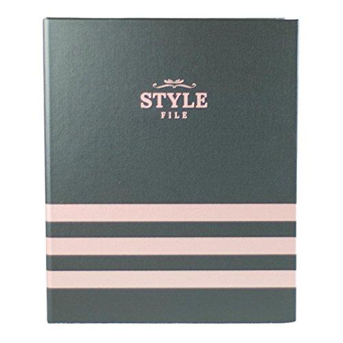 Style File Client Book - Complete Set (Rose Gold & Black)