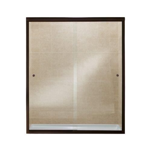 Sterling Plumbing 5477-59DR-G05 Finesse Shower Door Bypass 70-1/16