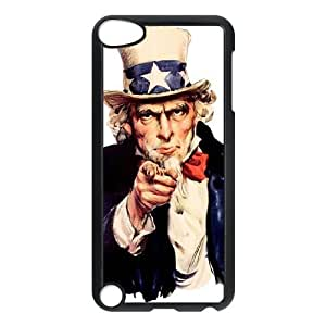 Custom Cell Phone Case for Ipod Touch 5 with Uncle Sam shsu_7640249 at SHSHU wangjiang maoyi