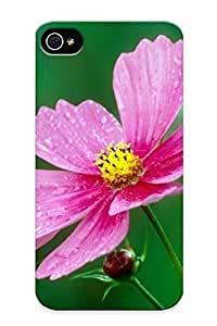 Goldenautumn F1b602414 Case For Apple Iphone 4/4S Case Cover With Nice Flowers Nature Plant Beautiful Green Flower Appearance